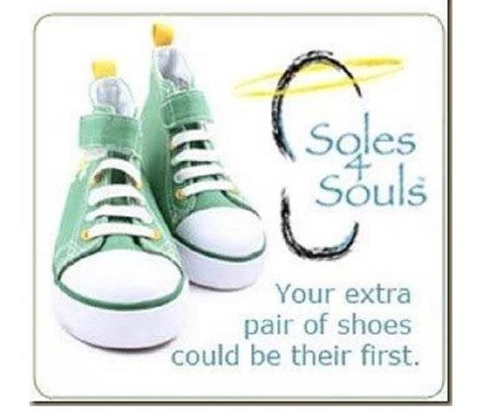Community SERVPRO GIVES BACK TO THE COMMUNITY WITH SOLES4SOULS